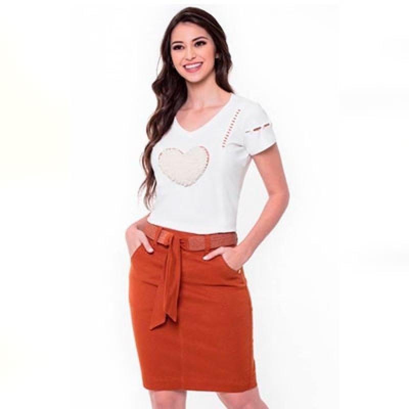 Blusa de Moda Evangélica Jaguaré - Blusas da Moda Evangélica