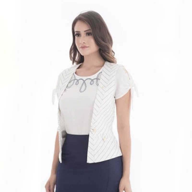 Blusa Feminina Evangélica Cotia - Blusas para Senhoras Evangélicas