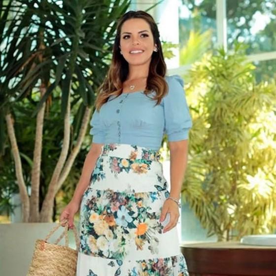 Blusa Feminina Moda Evangélica Orçamentos Vila Progredior - Blusa Moda Evangélica Feminina