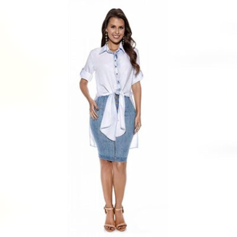 Blusa Social de Moda Evangélica Vila Matilde - Blusas da Moda Evangélica