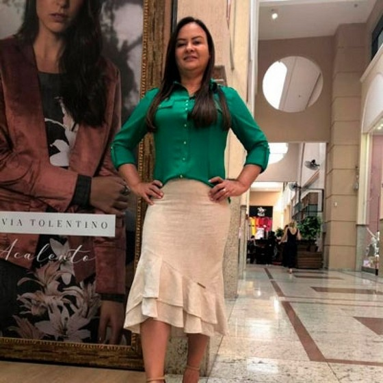 Blusas Femininas Sociais Evangélicas Campo Grande - Blusas Estampadas Evangélicas