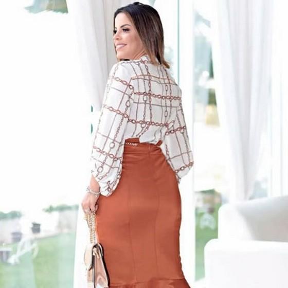 Blusas Moda Evangélica Femininas Francisco Morato - Blusa Moda Evangélica Feminina