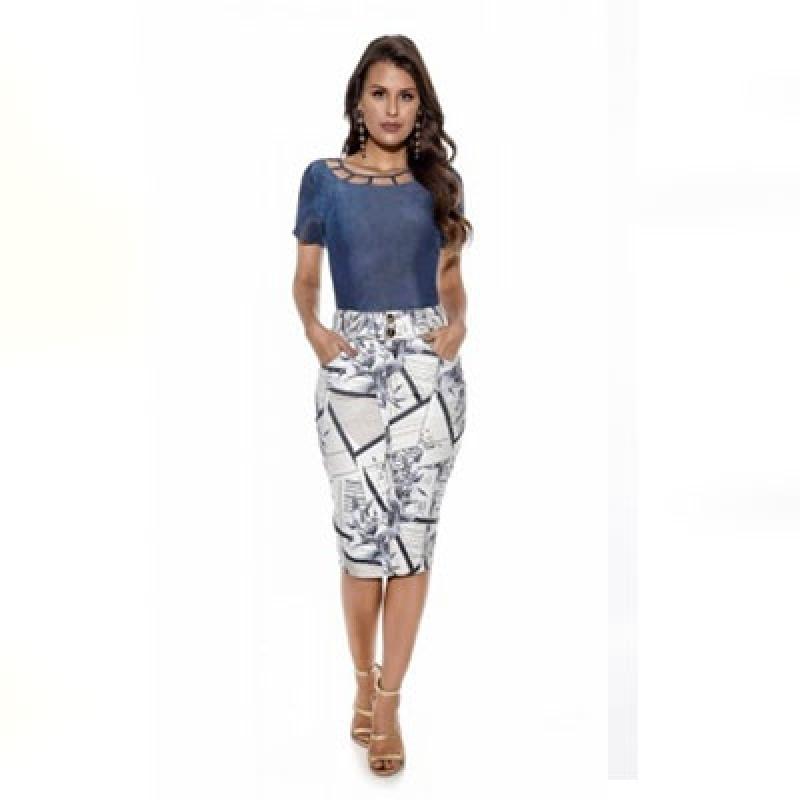 Blusas Moda Evangélica Tipo Femininas Santo Amaro - Blusas da Moda Evangélica