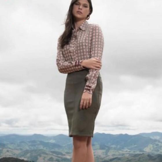 Blusas Sociais Femininas Moda Evangelica Jardim Vazani - Blusas Sociais Femininas Moda Evangelica