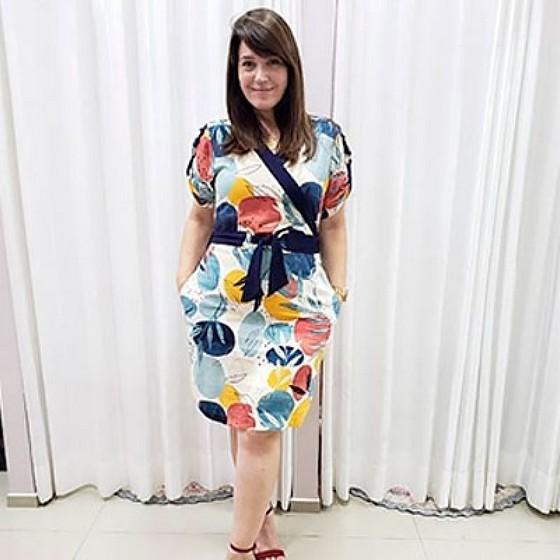 Custos de Vestidos de Festa Moda Evangélica Plus Size Jockey Clube - Saias Plus Size Moda Evangélica