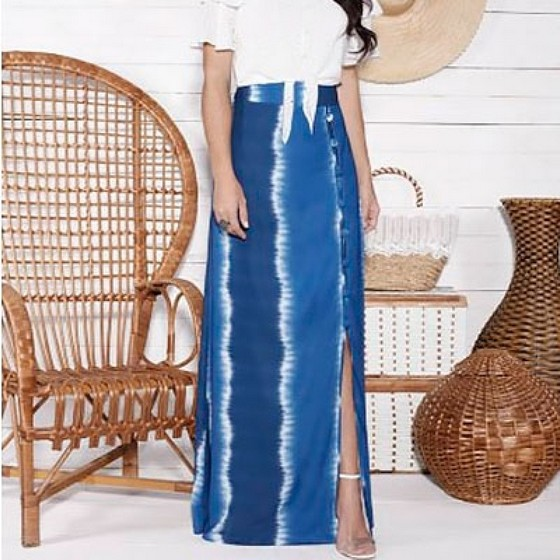 Fornecedor de Saias Longas Jeans Moda Evangelica Carandiru - Saias Longas Jeans Moda Evangelica