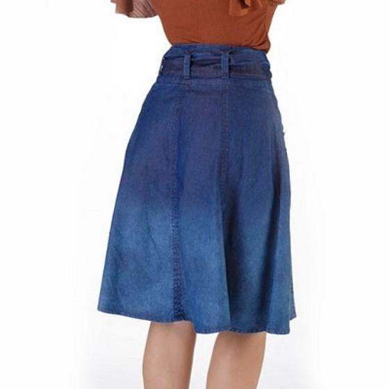 Fornecimento de Saia Jeans Godê Evangélica Parelheiros - Saia Jeans Moda Evangélica