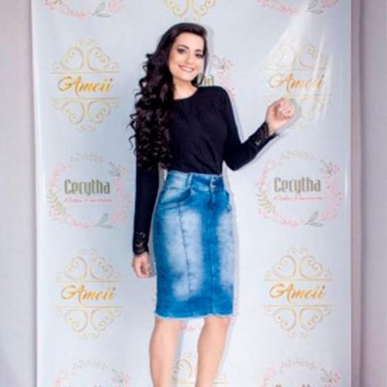 Loja Que Tenha Moda Evangélica Festa Vila Maria Alta - Moda Evangelica Vestidos Longos Estampados