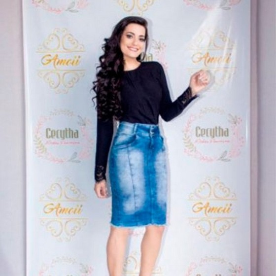 Loja Que Tenha Moda Evangélica Festa Francisco Morato - Moda Evangelica Vestidos Longos Estampados