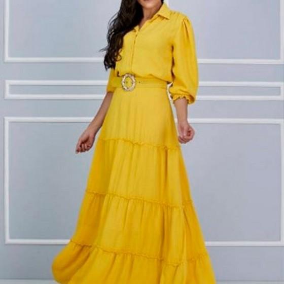 Lojas Que Tenham Moda Evangelica Vestidos Rodados Pirapora do Bom Jesus - Moda Evangelica Vestidos Godê