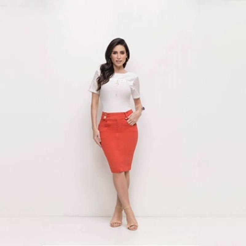 Lojas Que Vendem Moda Evangélica Blusa de Tecido MUTINGA - Blusas Sociais Femininas Moda Evangelica
