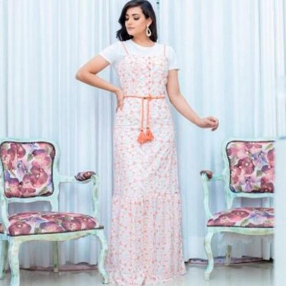 Moda Evangelica Vestidos Longos Estampados Granja Julieta - Moda Jovem Evangélica