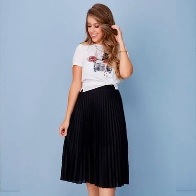 Qual o Preço Blusa Feminina de Moda Evangélica Parque Maria Domitila - Blusa Moda Evangélica Feminina
