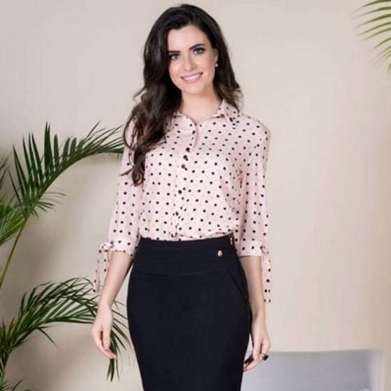 Qual o Preço Blusa Moda Evangélica Feminina Brasilândia - Blusa Moda Evangélica Feminina