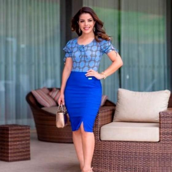 Qual o Valor Blusa Feminina de Moda Evangélica Raposo Tavares - Blusas da Moda Evangélica