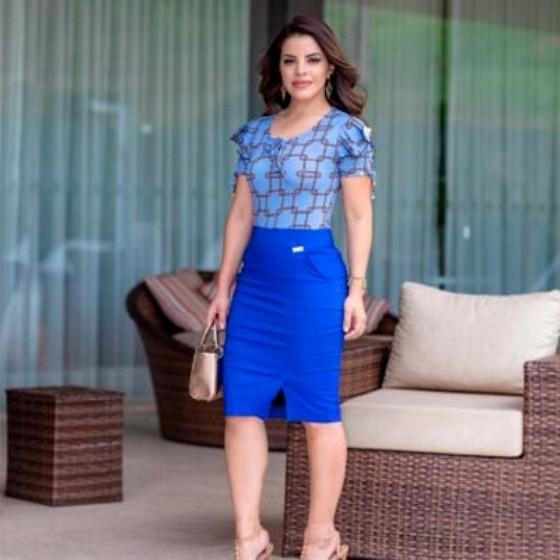 Qual o Valor Blusa Moda Evangélica Tipo Feminina Cambuci - Blusas da Moda Evangélica