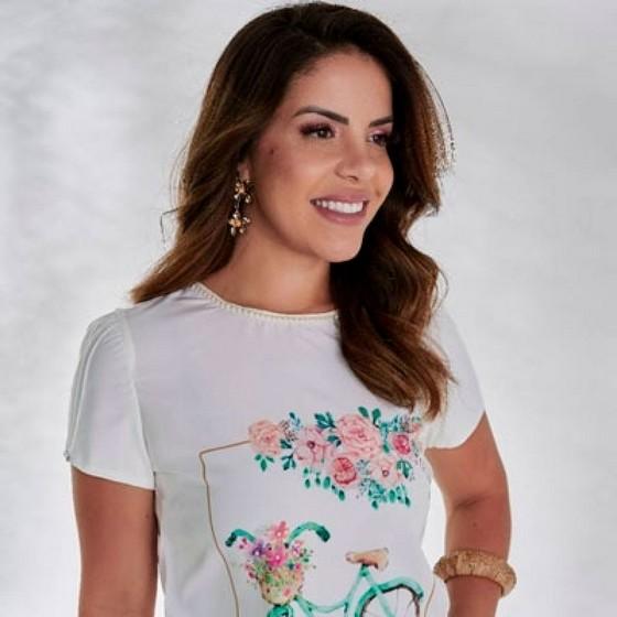Qual o Valor Blusas da Moda Evangélica Jandira - Blusa Moda Evangélica Feminina