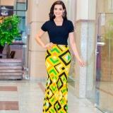 blusa moda evangélica tipo feminina