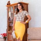 blusa moda evangélica tipo feminina Santa Cecília