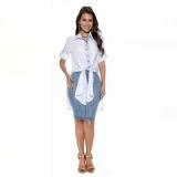 blusa social de moda evangélica Sacomã