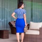 blusa social moda evangélica Cotia