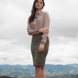blusas lindas moda evangélica Santa Isabel