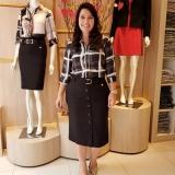 compra de saias plus size moda evangélica Taboão da Serra