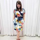 compra de vestido de festa plus size moda evangélica Vila Nova Conceição