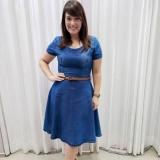 compra de vestidos de festa moda evangélica plus size Taboão da Serra