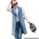 custo de colete jeans feminino comprido Santa Cecília