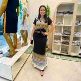 distribuidor de saias longas moda evangélica Praça da Arvore