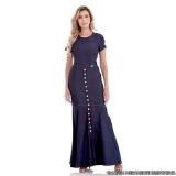 fornecedor de vestido longo de jeans Jardim Japão