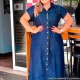 loja que tenha vestido longo jeans plus size jardim São Saveiro