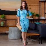 loja quem tem vestido social para senhora evangélica Brasilândia