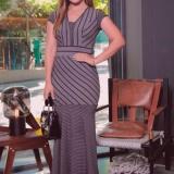 lojas de vestidos longos casuais evangélicos Vila Romana