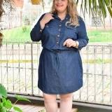 lojas que tenham vestido camisa jeans plus size Bairro do Limão