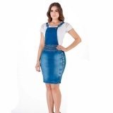 lojas que tenham vestido jardineira jeans plus size Vila Leopoldina