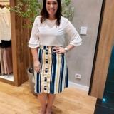 lojas que vendem blusas sociais femininas moda evangelica Ibirapuera