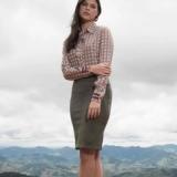 lojas que vendem moda evangelica blusas sociais femininas Chácara do Piqueri