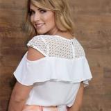 moda evangelica blusas de renda Grajau