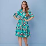 moda evangelica vestidos godê