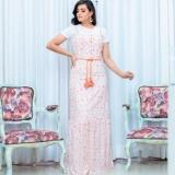 moda evangelica vestidos longos estampados Santa Cecília