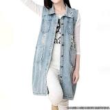orçamento de colete jeans comprido feminino Vila Pompeia