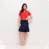 orçamento de saia social moda evangélica feminina Lapa