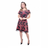 procuro loja de vestido de festa curto rodado Caieiras