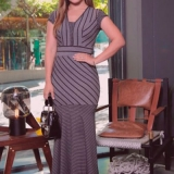 valor de vestido longo moda evangélica Chácara do Piqueri