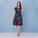 vestido godê moda evangelica Caieiras