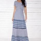 vestido longo moda evangélica Cajamar